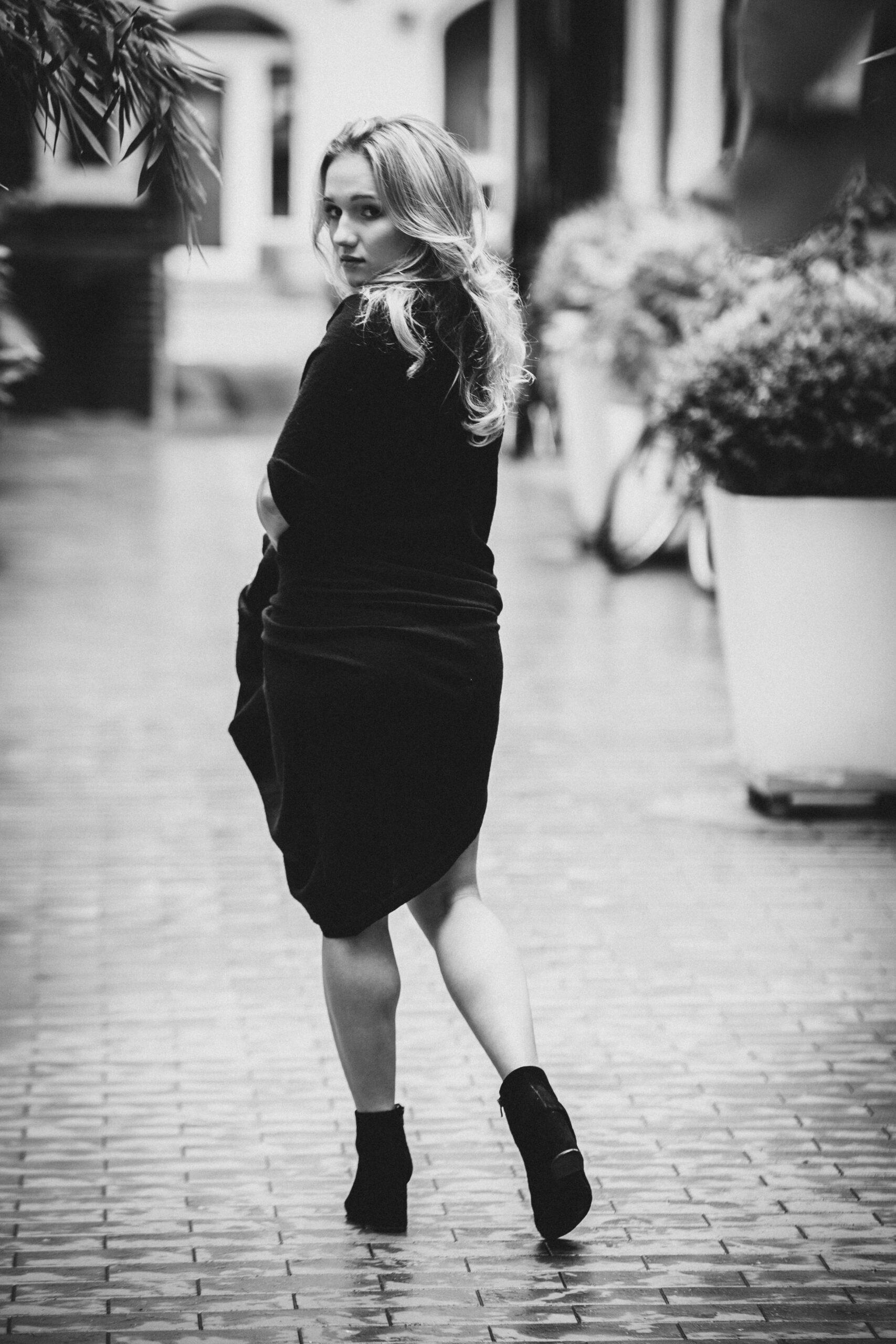 Sesja kobieca w mieście